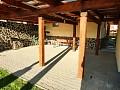 Krytá terasa s grilom
